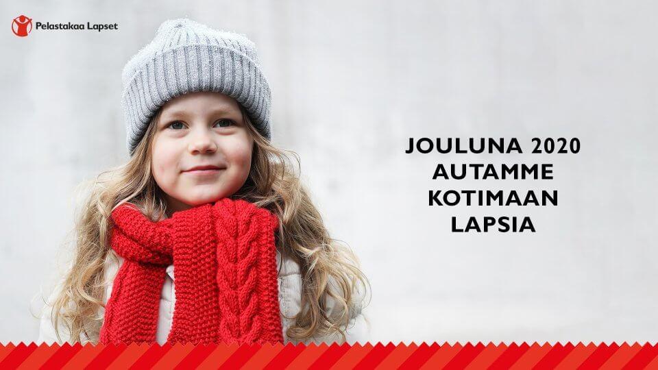 Tuemme Pelastakaa Lasten kotimaan työtä